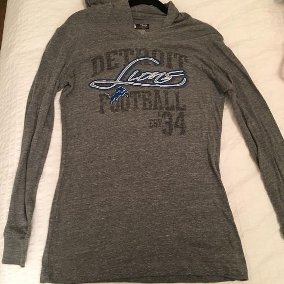 d22cdde3 Womans NFL Detroit Lions Hoodie Boutique